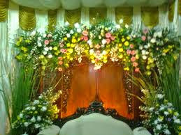 jual bunga dekorasi pelaminan