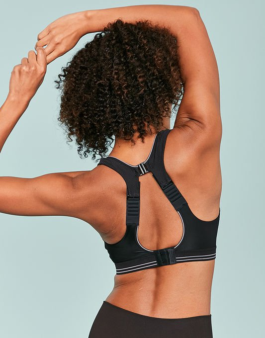 1665968218 The high impact Shock Absorber Run sports bra is made especially with  runners in mind. The award-winning bra helps reduce bounce by up to 78%  with a unique ...