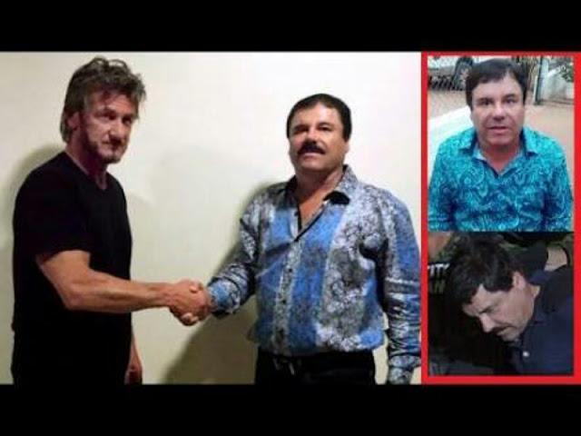 """Revelan que supuesta traición de Sean Penn """"puso"""" a """"El Chapo"""""""