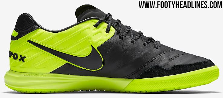 90894a7dbd3 Black   Volt Nike TiempoX Proximo Dark Lightning Boots Released ...