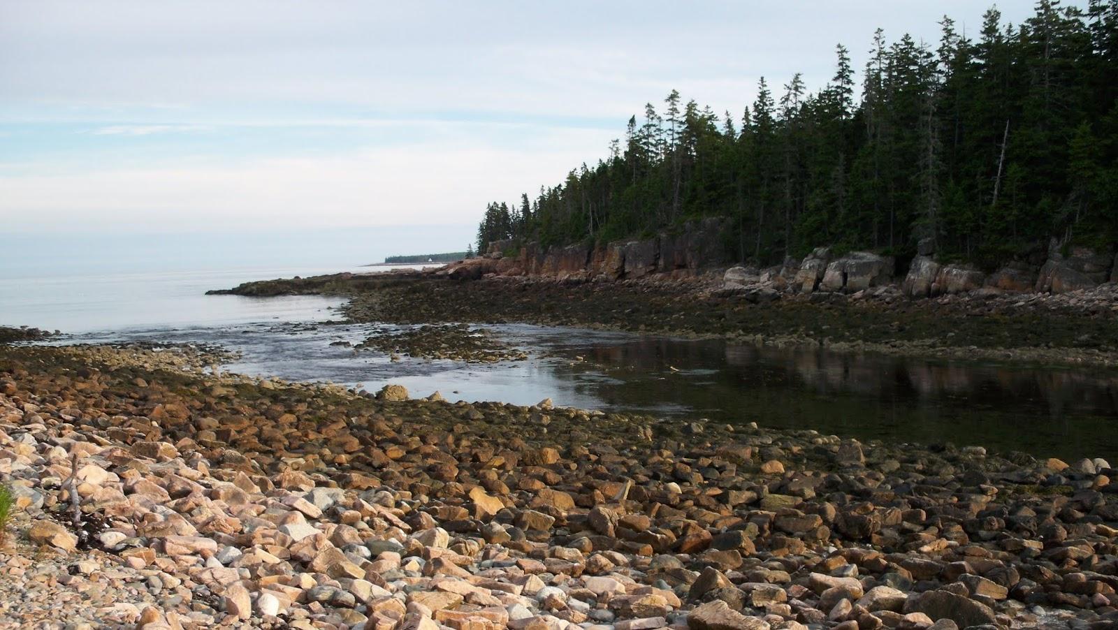Acadia National Park Dusk Coast Beach Wallpapers Full HD