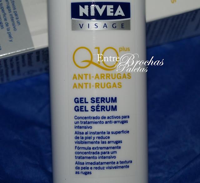 Serum antiarrugas Q10 de Nivea - Entre brochas y paletas..
