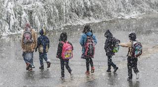 ولايات تركية تعلق الدراسة بسبب سوء الأحوال الجوية