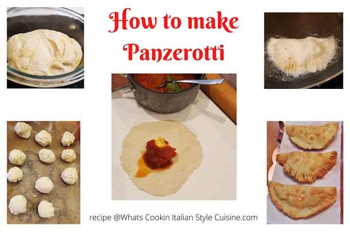 collage on how to make panzerotti