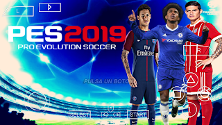 [200MB] Download PES 2019 PPSSPP ISO Android Offline Terbaru
