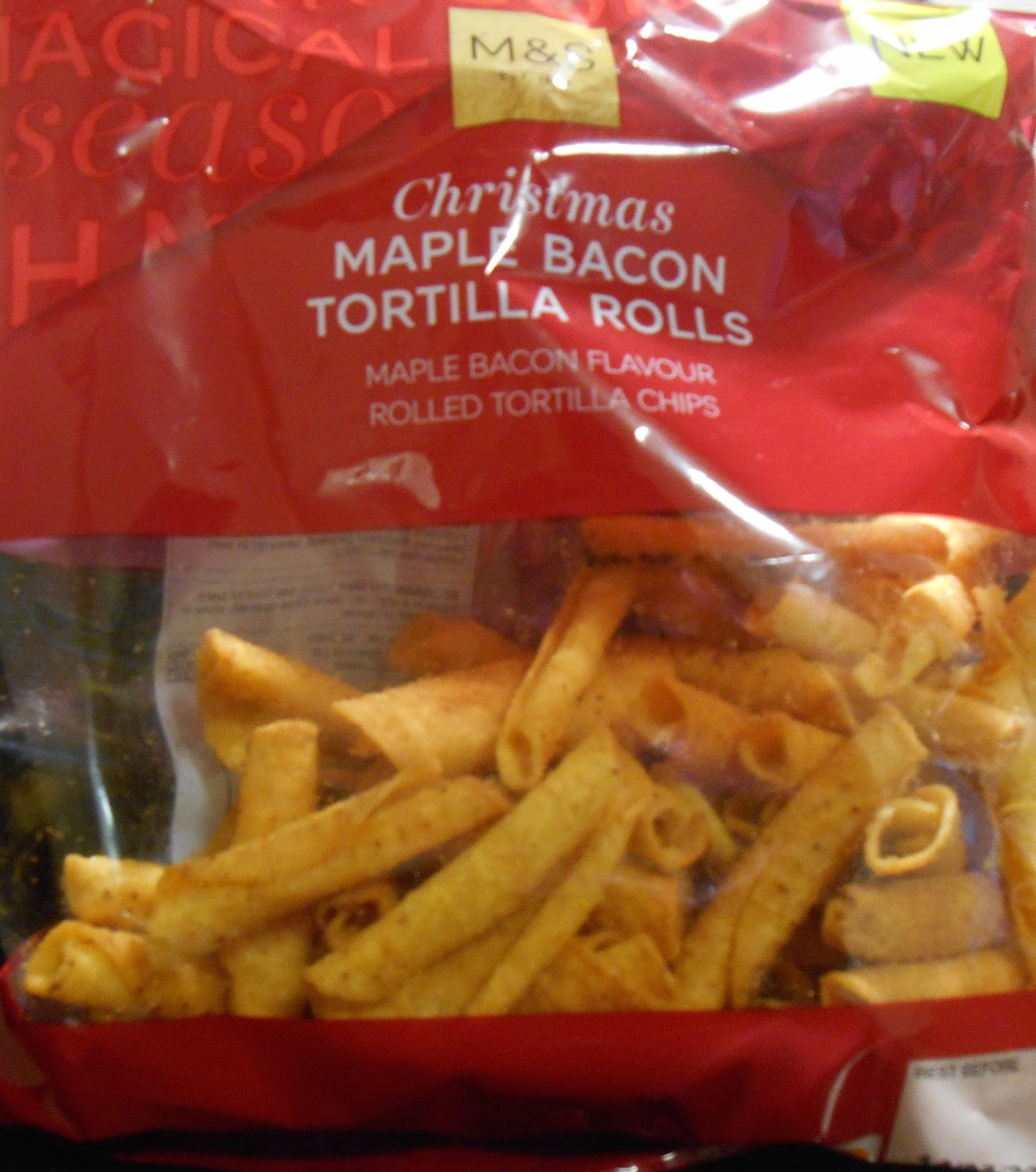 Cheeseburger Crisps Other Stories M S Christmas Maple Bacon