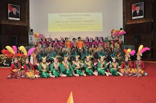Gemu Fa Mi Re dan Kolintang Meriahkan HUT ke-52 Dharma Pertiwi