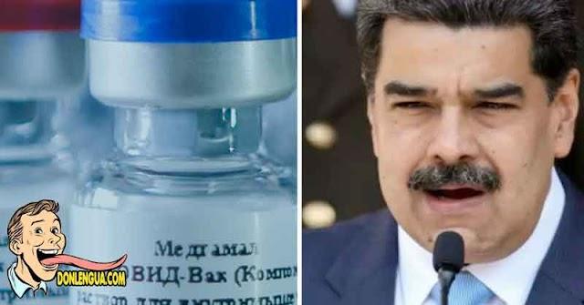 Régimen aprueba uso de emergencia de la vacuna Rusa que no sirvió para nada en Rusia