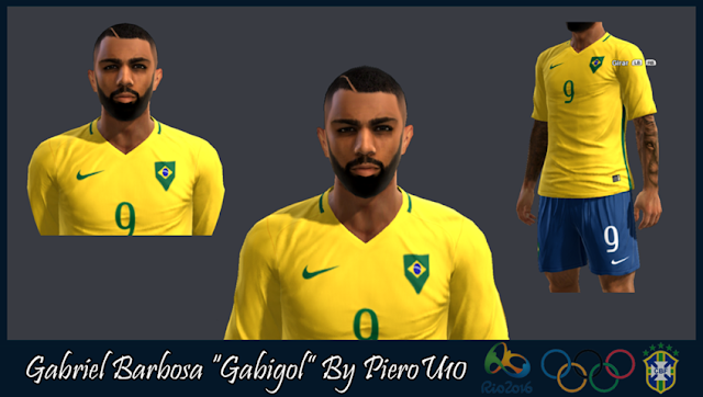 PES 2013 Gabriel Barbosa New Face