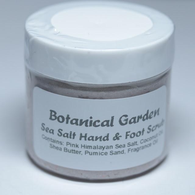 Riverwood Apothecary Botanical Garden Sea Salt Hand & Foot Scrub