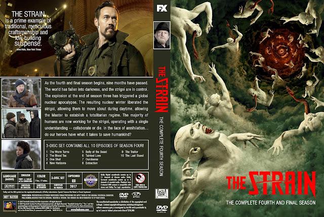 The Strain Season 4 DVD Cover