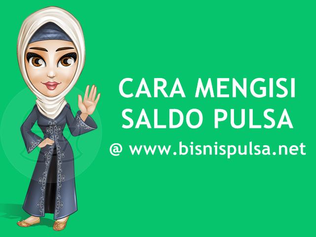 Cara Deposit / Mengisi Saldo Pulsa Murah di BisnisPulsa.net