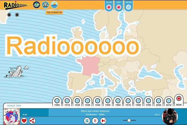 Radioooooo - Η καλύτερη ιστοσελίδα με μουσική που μας ταξιδεύει σε διάφορες χώρες και δεκαετίες