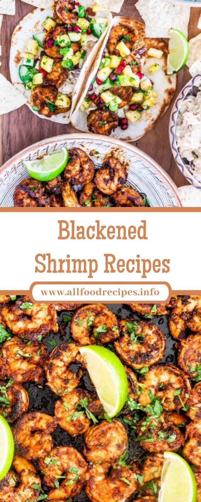 Blackened Shrimp Recipes