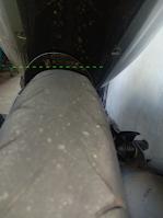 Gambar tayar motor botak