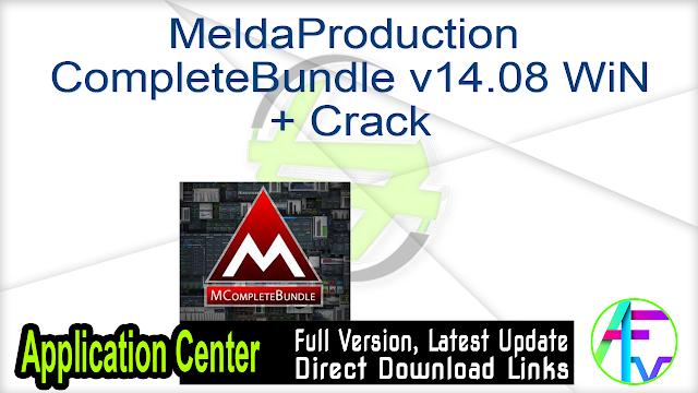 MeldaProduction MCompleteBundle v14.08 WiN + Crack