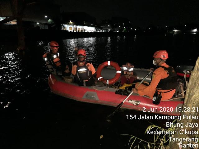 Hingga Malam Ini, Tim Sar Gabungan Belum Temukan Korban Tenggelam Di Cikupa