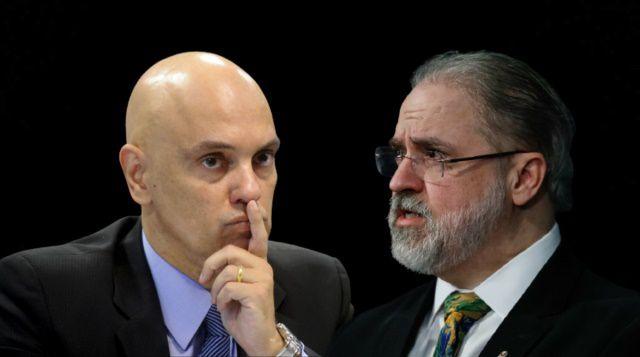 O revide de Moraes as jogadas do cochilador-geral da Republica em prol de Bolsonaro