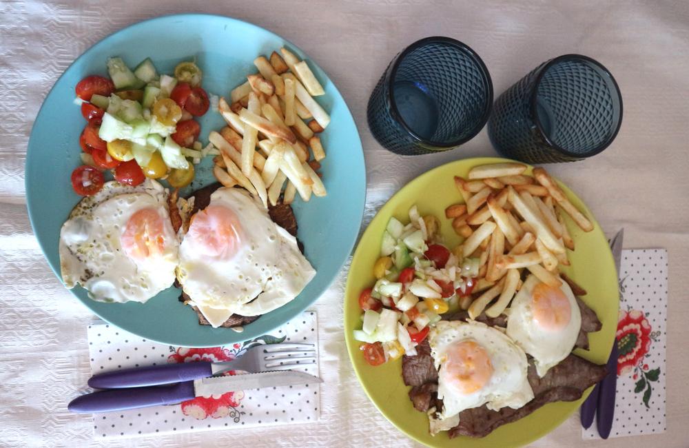 Comida para dois + vegetariano + omnivoro + casal português de comida + blogue ela e ele + ele e ela + Pedro e Telma