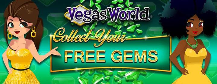 Vegas World Weekly Gem Code - September 13, 2021