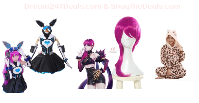 CLEARANCE SALE ON COSPLAY OUTFITS WIGS AND MORE