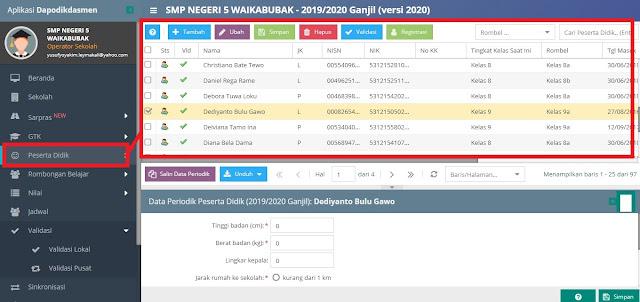 Cara Mengatasi Siswa Yang Belum Memiliki NIS/ NIPD Pada Aplikasi Dapodikdasmen Versi 2022