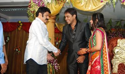Telugu Playback Singer Malavika Wedding Reception Photos Gallery5