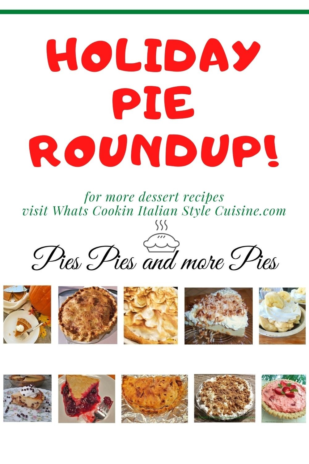 this is a pie for later pie roundup of recipes
