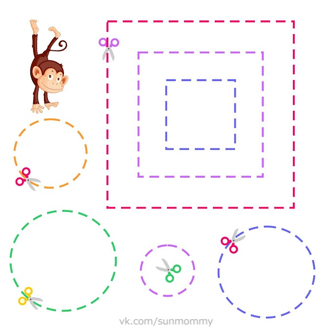 10+ Cut and Paste Worksheets for Preschool