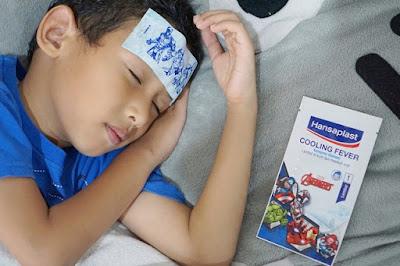cara mengatasi demam pada anak