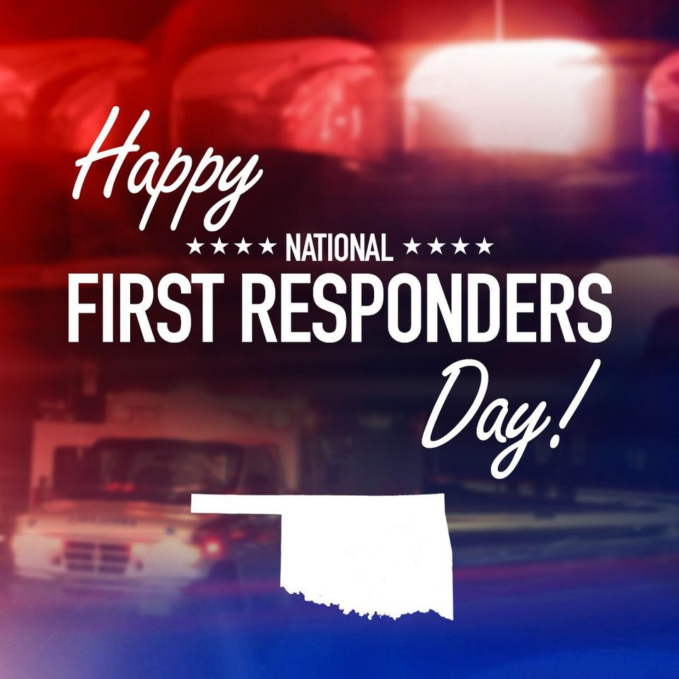 National First Responders Day Wishes Photos