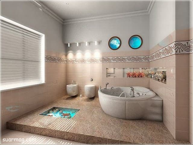 صور حمامات - حمامات مودرن 5 | Bathroom Photos - Modern Bathrooms 5