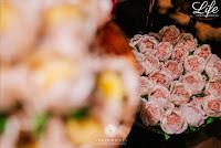 festa de formatura em direito da pucrs realizada no eleven dinner room em porto alegre com decoração estilo rustico chic em tons de marsala e verde