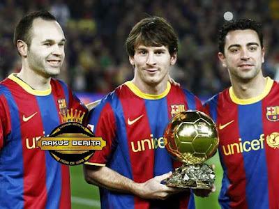 Messi Dapatkan Ballon d'Or Keduanya
