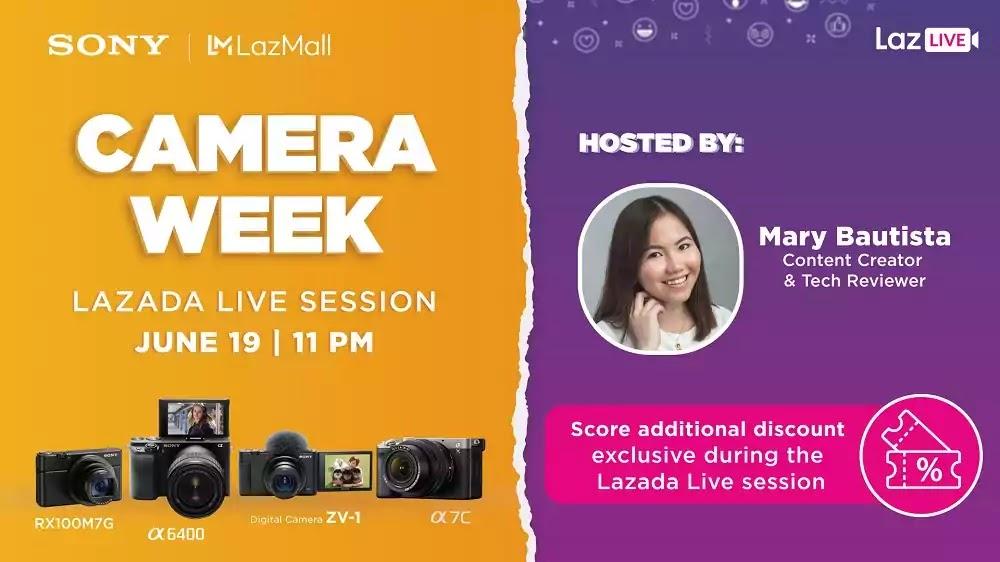 Sony Camera Week LazLive