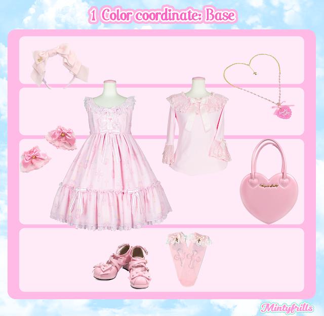 sweet lolita, pink, kawaii, cute, mintyfrills,