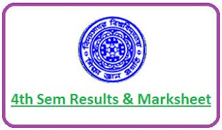 Vidyasagar University 4th Sem Result 2021
