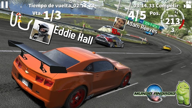 Visualización de GT Racing 2: The Real Car Exp