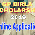 GP Birla Foundation Scholarship 2019 Application form | West Bengal Scholarship 2019