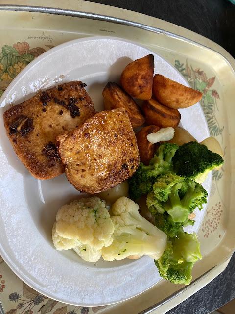 tofu sunday dinner