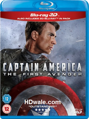 Captain America the First Avenger (2011) 1080p & 720p BluRay