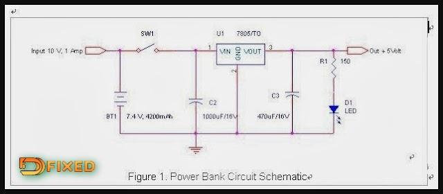 Cara Membuat Rangkaian Power Bank Sederhana