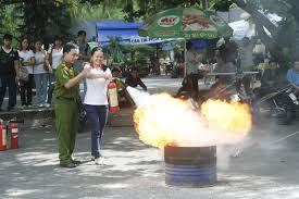 Phương pháp chữa cháy cơ bản cần biết