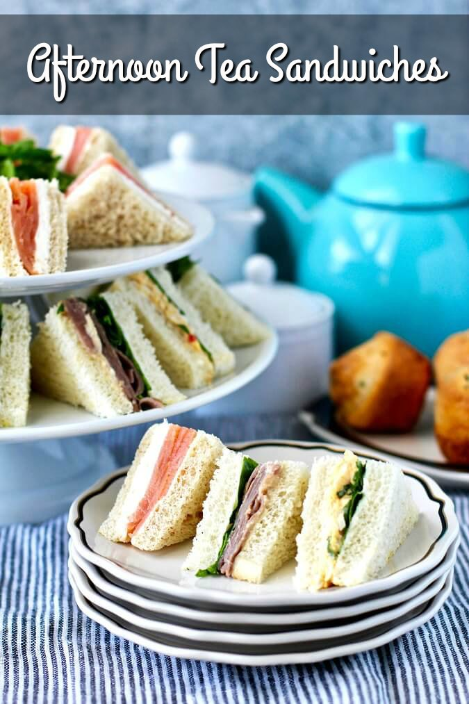 Assorted Tea Sandwiches For Afternoon Tea Karen S Kitchen Stories