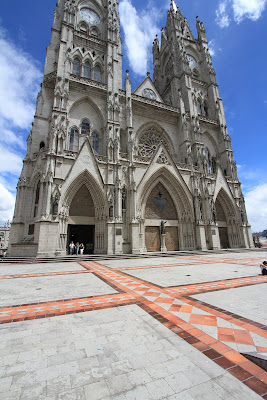 Basilica of the Nacional Vow - Quito