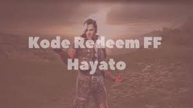 Kode Redeem Hayato