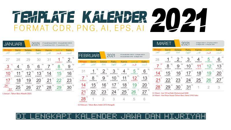 Kalender 2021 Hijriyah Dan Masehi