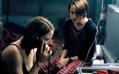 Jodie Foster e Kristen Stewart em O Quarto do Pânico; filme é atração do Super Tela desta sexta (19)