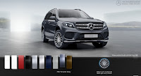 Mercedes GLS 500 4MATIC 2017 màu Xám Tenorite 755