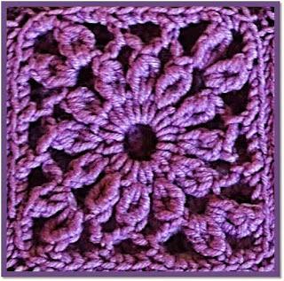 granny o cuadro crochet